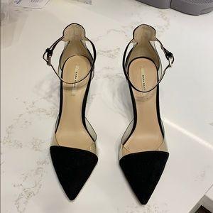 b2c7f7e8edd Women s Zara Clear Heels on Poshmark
